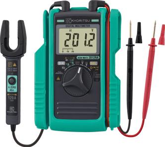 Я共立電気【2012RA】AC/DCクランプ付デジタルマルチメータ