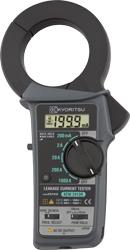 Я共立電気【2413R】リーククランプメータ RMS 漏れ電流・負荷電流測定用