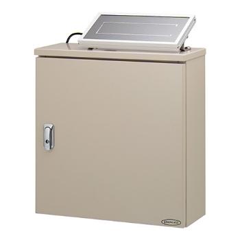 大切な ###カクダイ【504-047】3チャンネルソーラー発電ユニット(ステンレスボックス) 受注生産:あいあいショップさくら-木材・建築資材・設備