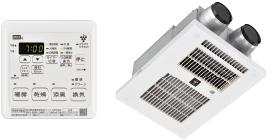リンナイ 電気式浴室暖房乾燥機【BRS-C103HR-CX-RN】3室換気対応 取替専用 プラズマクラスター