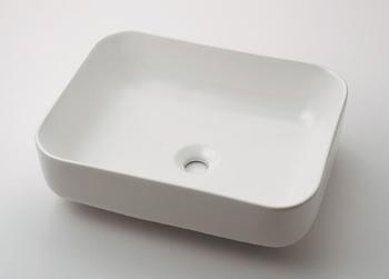 カクダイ【#CL-8745AC】角型洗面器