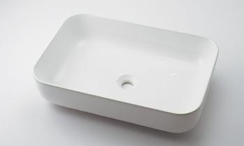 カクダイ【#CL-8746AC】角型洗面器