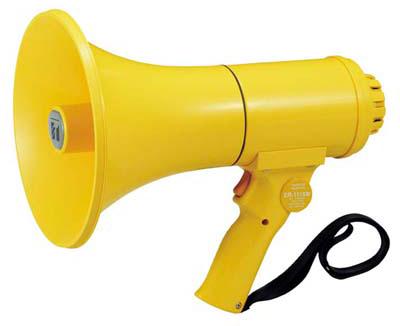 Яティーオーエー/TOA 音響機器【ER-1115W】防滴メガホン 15W ホイッスル音付