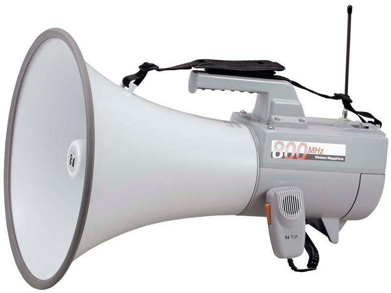 Яティーオーエー/TOA 音響機器【ER-2830W】ワイヤレスメガホン 30Wホイッスル音付
