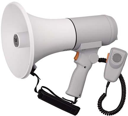Яティーオーエー/TOA 音響機器【ER-3115】ハンドル付ショルダーメガホン 15W