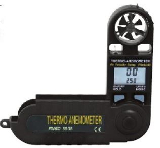 ■W.FUSO【FUSO-8908】デジタル風速温度計