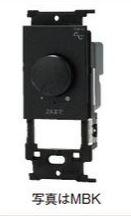 ###β神保電器 配線器具【NW-RTE2SV】シルバー J・WIDE SLIM(Jワイドスリム) ライトコントロールスイッチ本体(逆位相制御) 受注生産