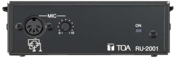 Яティーオーエー/TOA 音響機器【RU-2001】屋内用PAアンプ用 リモートユニット