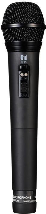 Яティーオーエー/TOA 音響機器【WM-1265B】ワイヤレスマイク ハンド型 PLLシンセサイザー方式 抗菌