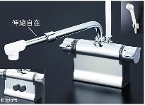 KVK 水栓金具【KF3011ZTSJ】デッキ形サーモスタット式シャワー 寒冷地仕様
