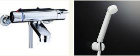 ∬∬▽INAX【BF-2147TKSD】サーモスタットシャワーバス水栓 ヴィラーゴ エコフルスプレーシャワー逆止弁
