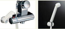 ▽INAX【BF-2241TSD】 セルフストップ付洗い場専用サーモスタット付シャワー水栓逆止弁