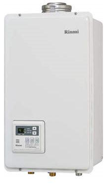 リンナイ ガス給湯器 24号 本体温度調節型 【RUX-V2405FFUA】(旧品番RUX-V2400FFUA) FF方式・屋内壁掛型