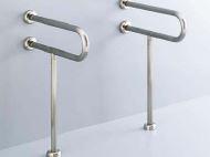 INAX/LIXIL【KF-312S70】洗面器用手すり(壁床固定式)ステンレスタイプ パブリック用