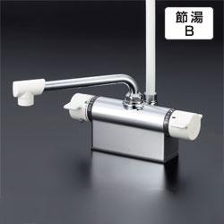 KVK水栓金具 【KF801Z】 デッキ形サーモスタット式シャワー(取付ピッチ100mm) 寒冷地用