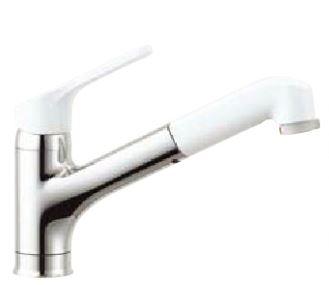 2016年4月発売予定INAXキッチン用水栓金具【SF-HE452SYXN】寒冷地ハンドシャワー付シングルレバー混合水栓ワンホールタイプノルマーレ(エコハンドル)吐水口引出式