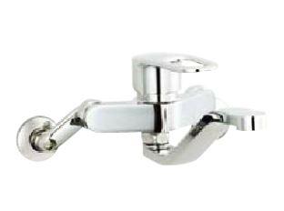▽INAX キッチン用水栓金具【SF-WM436SYN】寒冷地 シングルレバー混合水栓 壁付タイプ クロマーレS(エコハンドル)