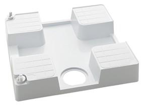 KVK 水栓金具【SP1390N-L】水栓コンセント内臓型 防水パン(左仕様) 腰高タイプ 緊急止水機能付