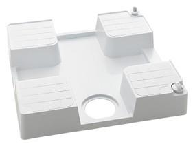 KVK 水栓金具【SP1390N-R】水栓コンセント内臓型 防水パン(右仕様) 腰高タイプ 緊急止水機能付