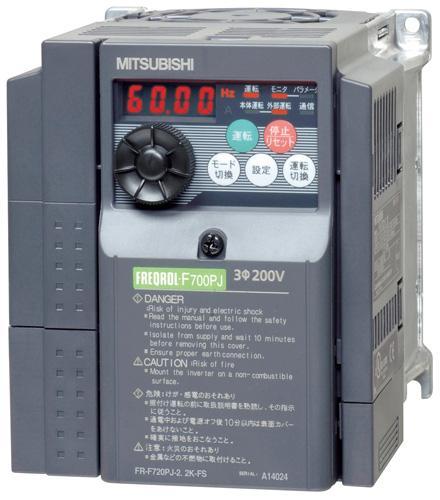 ◆在庫有り!台数限定!三菱【FR-F720PJ-2.2K-FS】送風機用3相インバータ