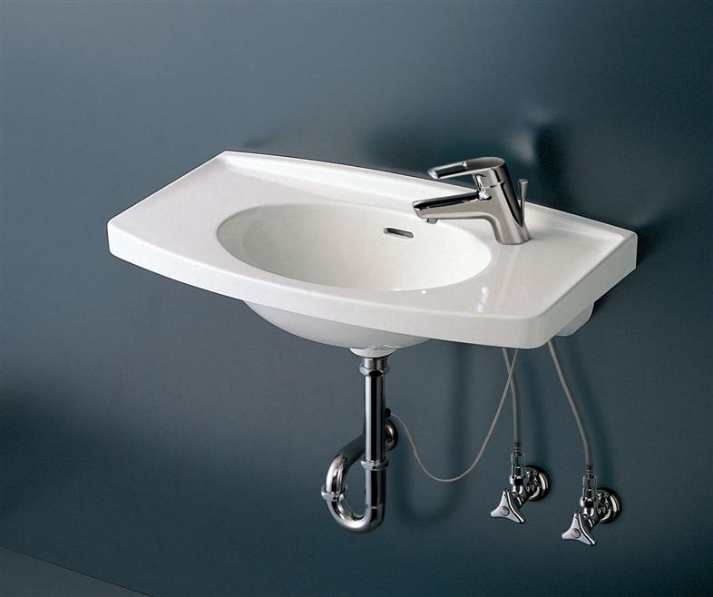###TOTO【L270C】壁掛カウンター付洗面器 洗面器本体のみ