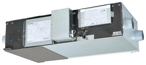 ###三菱【LGH-N15RKSD】(旧品番LGH-15RKS5D) 天井埋込形加湿付 業務用ロスナイ 単相200V スタンダードタイプ