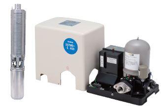 テラル 深井戸用定圧給水式ポンプ【25TWS-5.37S-9】50Hz 単相100V
