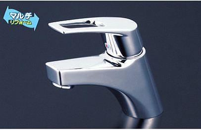 KVK【KM7001ZTHP】洗面用シングルレバー式混合栓 取り付け穴兼用型φ33mm~φ39mm 寒冷地仕様 ポップアップ式