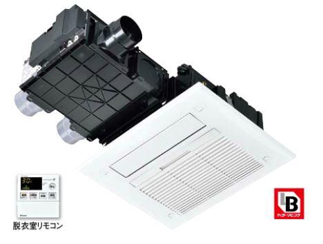 リンナイ 浴室暖房乾燥機【RBH-C418K3P】天井埋込型 開口標準タイプ 3室換気対応 脱衣室リモコン付