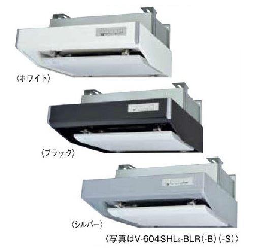 π三菱 レンジフードファン フラットフード形 【V-603SHL2-BLL】ホワイト 左排気 接続パイプφ150mm 給気シャッター連動一体プラグ付 BL規格排気型III型