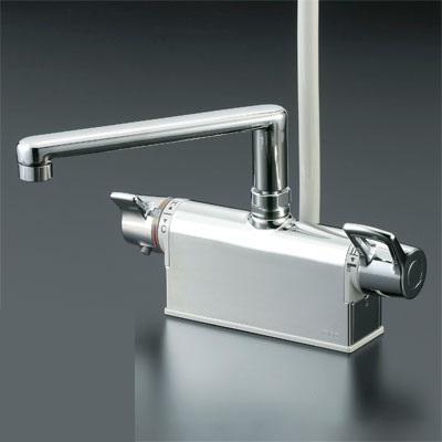 KVK 水栓金具【KF781T】デッキ形サーモスタット式シャワー