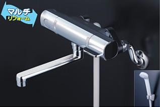 KVK 水栓金具【FTB100KWTKT】浴室用水栓 取替用サーモスタット式シャワー ※寒冷地用