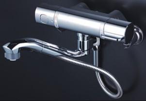 KVK 水栓金具【FTB100KWSFT】浴室用水栓 サーモスタット式混合栓