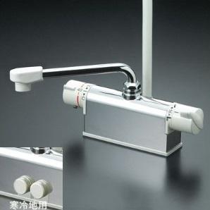 ◆在庫有り!台数限定!KVK水栓金具【KF771YR2】サーモスタット混合水栓 一般地用
