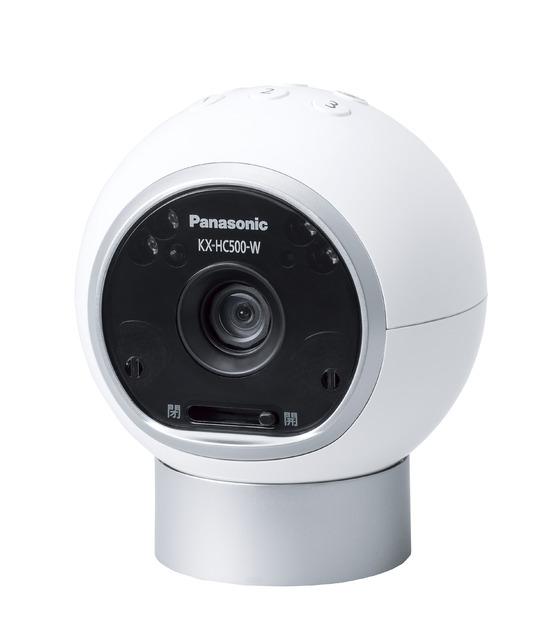 パナソニック ホームネットワークシステム【KX-HC500-W】おはなしカメラ