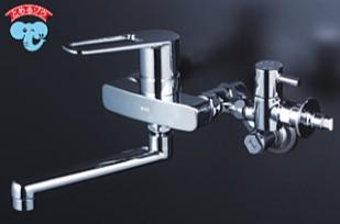 KVK キッチン【MSK110KZBT】シングルレバー式混合栓 ※寒冷地用