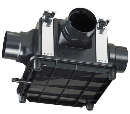 高須産業【TK-265T3L】 強制排気3方向中間形ダクトファン(天井埋込・床置兼用タイプ)適合パイプφ100