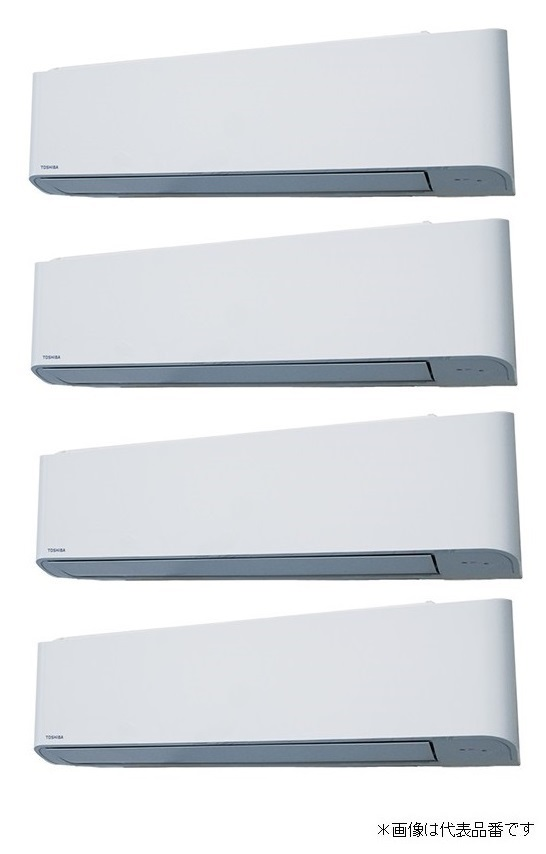 ###東芝 業務用エアコン【AKSF28067M】壁掛形 スーパーパワーエコゴールド 同時ダブルツイン 10馬力 ワイヤード 三相200V