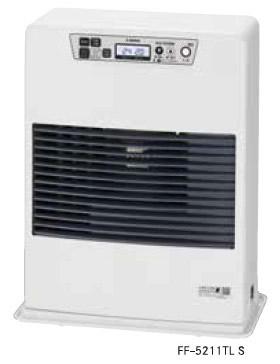 ###サンポット 石油暖房機【FF-5211TL S】FF式温風・コンパクトタイプ 石油 暖房機 木造14畳 2wayタイマー