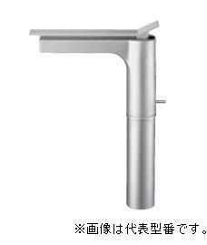 ≧三栄水栓/SANEI【K4732PJV-2T-MC-13】シングルワンホール洗面混合栓 サテン