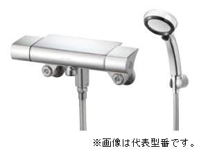 三栄水栓/SANEI【SK18502TK-13】サーモシャワー混合栓 手元ストップ 断熱 クリック 寒冷地用