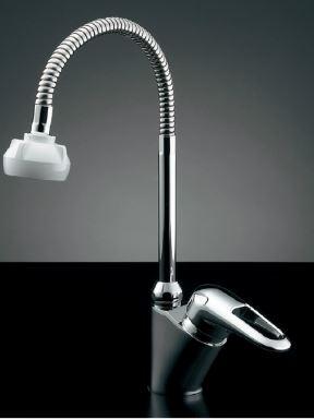 カクダイ【183-134】シングルレバー混合栓(シャワーつき)