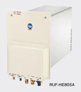 リンナイ ガス給湯器【RUF-HE80SAL】ガスふろ給湯器 壁貫通タイプ 壁貫通型 オート 8.2号 厚壁対応タイプ