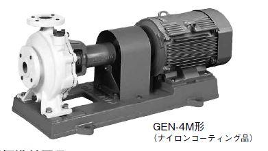 川本 うず巻ポンプ 4極 50Hz【GEN655M4ME1.5】三相200V 1.5kW GEN-4M形