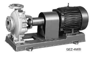 川本 海水用 ナイロンコーティング 50Hz【GEZ655-4ME2.2】三相200V GEZ-4M形 カワホープ
