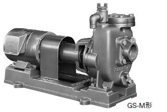川本 自吸タービンポンプ 2極 50Hz【GS655ME3.7】三相200V 3.7kW GS-M形