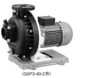 川本 海水用 自吸式プラスチック 50Hz【GSP4-805CE2.2】三相200V GSP4形 カワホープ