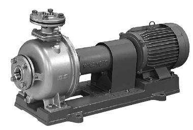 川本 ステンレス製多段タービンポンプ 2極 50Hz【KR5-505ME3.7】三相200V 3.7kW KR5-M形