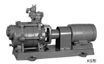 川本 自吸タービンポンプ 2極 50Hz【KS405X2ME2.2】三相200V 2.2kW KS形