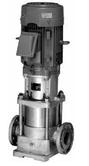 川本 ステンレス製立型タービンポンプ 2極 50Hz【KVS325ME0.75】三相200V 0.75kW KVS形
